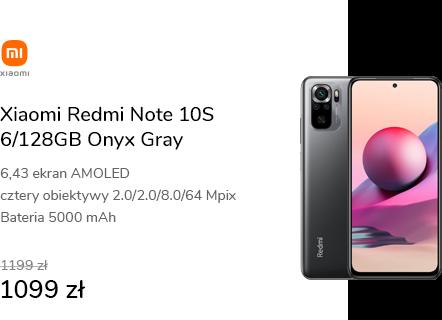 Xiaomi Redmi Note 10S 6/128GB Onyx Gray