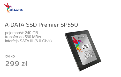 A-DATA 240GB 2,5'' SATA SSD Premier SP550