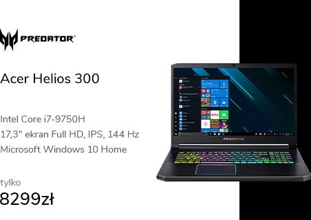 Acer Helios 300 i7-9750H/16/1024/W10 144Hz IPS RTX