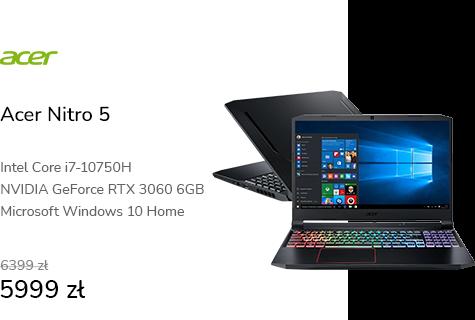 Acer Nitro 5 i7-10750H/16GB/1TB/W10 RTX3060 144Hz