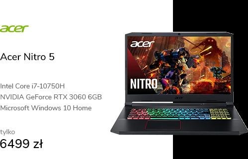 Acer Nitro 5 i7-10750H/16GB/512/W10X RTX3060 144Hz