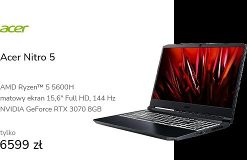 Acer Nitro 5 R5-5600H/16GB/1TB RTX3070 144Hz