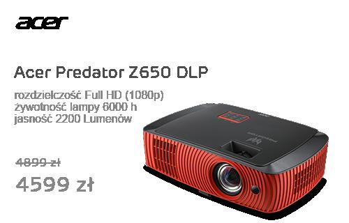 Acer Predator Z650 DLP