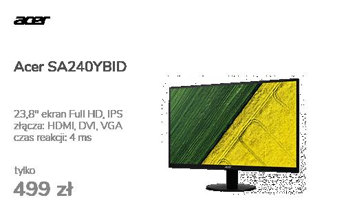 Acer SA240YBID czarny