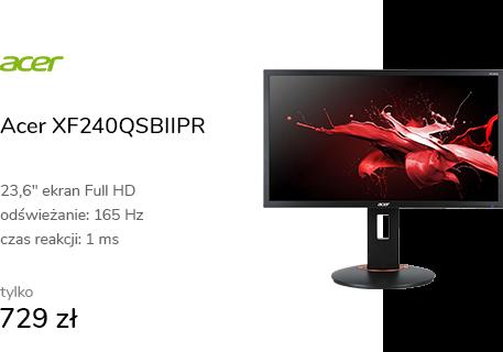 Acer XF240QSBIIPR czarny