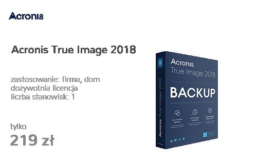 Acronis True Image 2018 PL