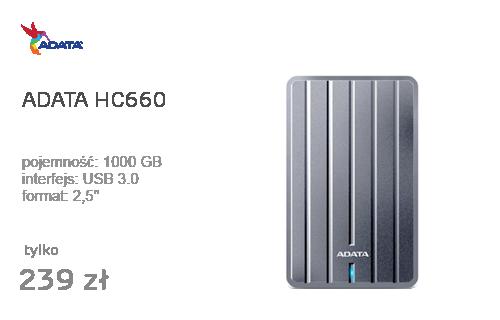 """ADATA 1TB HC660 2,5"""" USB 3.0"""