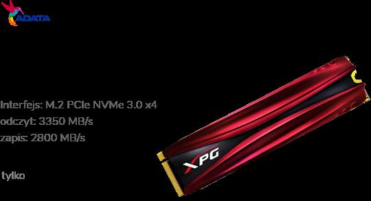 ADATA 1TB M.2 PCIe NVMe XPG GAMMIX S11 Pro