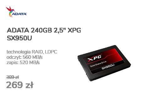 ADATA 240GB 2,5'' SATA SSD XPG SX950U