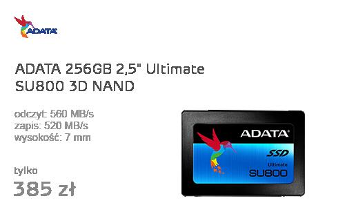 ADATA 256GB 2,5'' SATA SSD Ultimate SU800 3D NAND