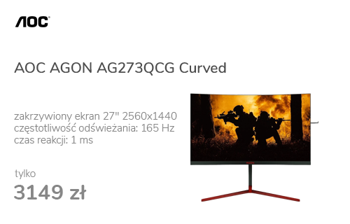 AOC AGON AG273QCG Curved