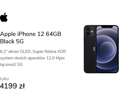 Apple iPhone 12 64GB Black 5G