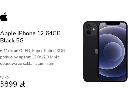 Apple iPhone 12 64GB Black 5G