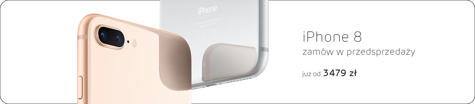 iPhone 8 - przedsprzedaż