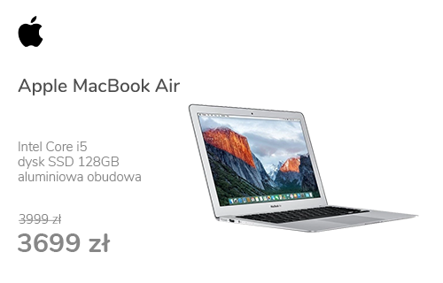 Apple MacBook Air i5/8GB/128GB/HD 6000/Mac OS