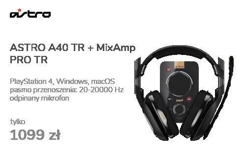 ASTRO A40 TR + MixAmp PRO TR dla PS4