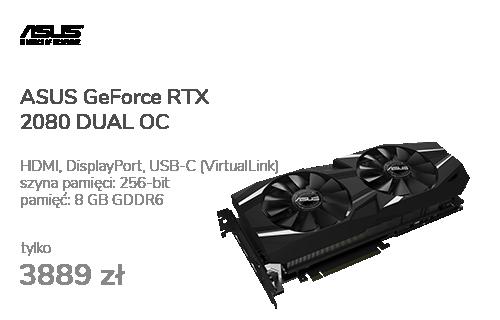 ASUS GeForce RTX 2080 DUAL OC 8GB GDDR6