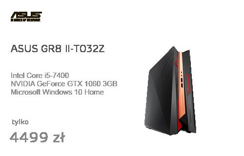 ASUS GR8 II-T032Z i5-7400/8GB/256SSD/Win10 GTX1060
