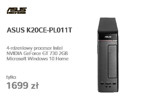 ASUS K20CE-PL011T J3710/8GB/2TB/DVD/Win10 GT730