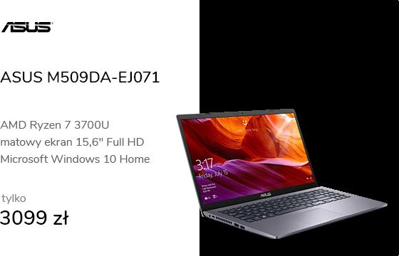 ASUS M509DA-EJ071 R7-3700U/12GB/512/W10X