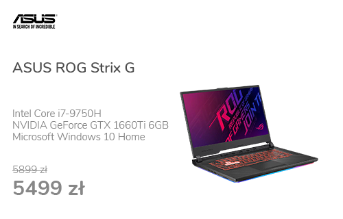 ASUS ROG Strix G i7-9750H/16GB/512/Win10