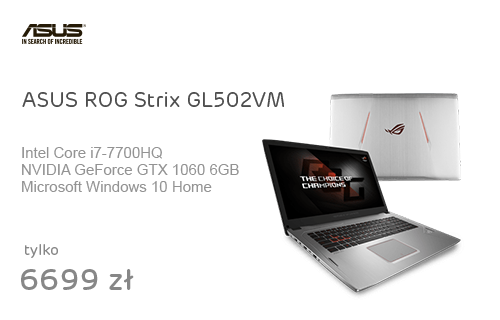 ASUS ROG Strix GL502VM i7-7700HQ/8GB/128+1TB/Win10