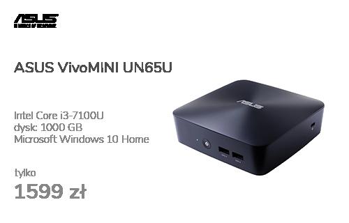 ASUS VivoMINI UN65U i3-7100U/4GB/1TB/Win10