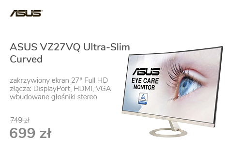 ASUS VZ27VQ Ultra-Slim Curved