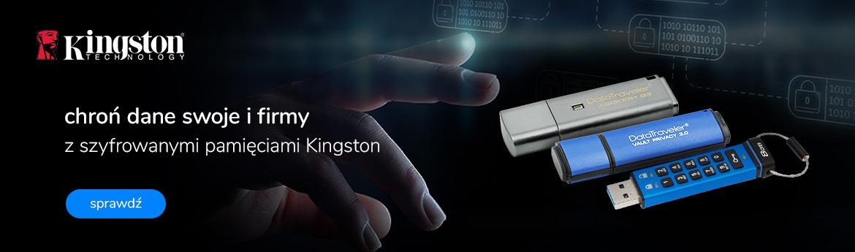 Kingston - pamięci szyfrowane
