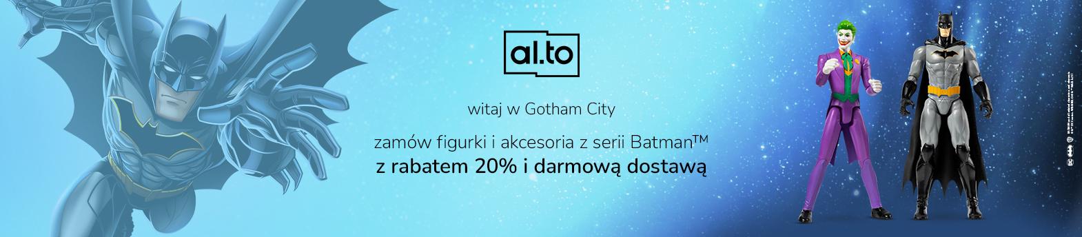 figurki i akcesoria z serii Batman™ ‑20%