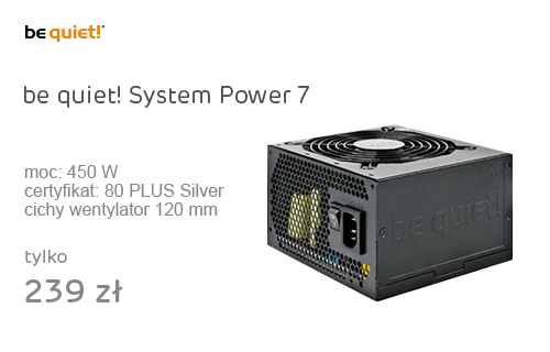 be quiet! 450W System Power 7 OEM