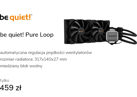 be quiet! Pure Loop 280mm 2x140mm