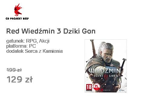CD Projekt Red Wiedźmin 3 Dziki Gon +dodatek Serca z Kamienia