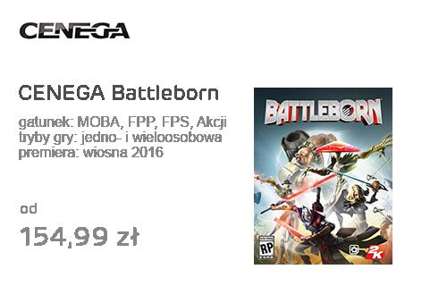 CENEGA Battleborn
