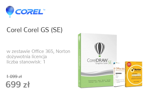 Corel Corel GS (SE) + Office 365 Personal + Norton