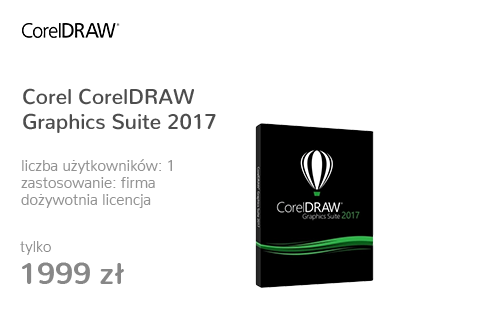 Corel CorelDRAW Graphics Suite 2017 PL Box
