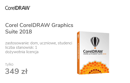 Corel CorelDRAW Graphics Suite Home & Student 2018 PL