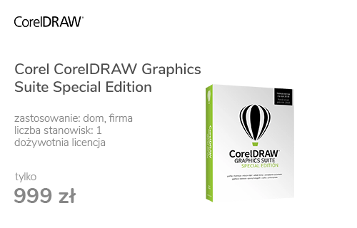 Corel CorelDRAW Graphics Suite Special Edition PL BOX