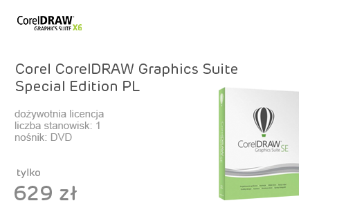 Corel CorelDRAW Graphics Suite Special Edition PL