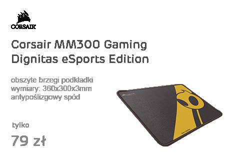 Corsair MM300 Gaming Dignitas eSports Edition (Medium)