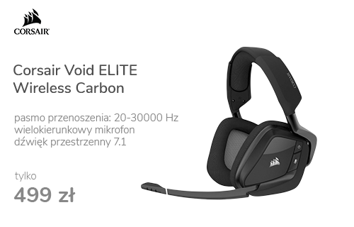 Corsair Void ELITE Wireless Carbon