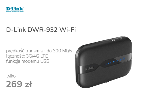 D-Link DWR-932 WiFi b/g/n 3G/4G (LTE) 150Mbps