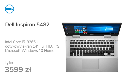 Dell Inspiron 5482 i5-8265U/8GB/256/Win10 FHD IPS