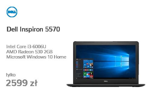 Dell Inspiron 5570 i3-6006U/8G/256/Win10 FHD