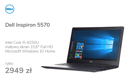 Dell Inspiron 5570 i5-8250U/8GB/1000/Win10 R530