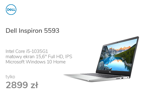 Dell Inspiron 5593 i5-1035G1/8GB/256/Win10 MX230 IPS