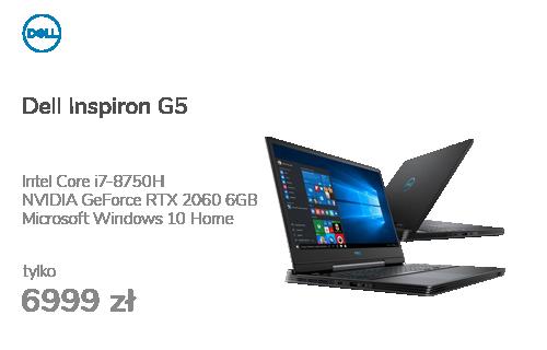 Dell Inspiron G5 5590 i7-8750/16GB/480+1TB/W10 RTX2060