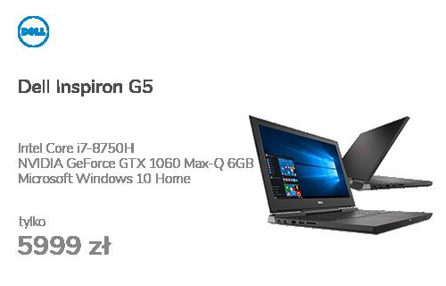 Dell Inspiron G5 i7-8750H/16G/256+1000/Win10 GTX1060