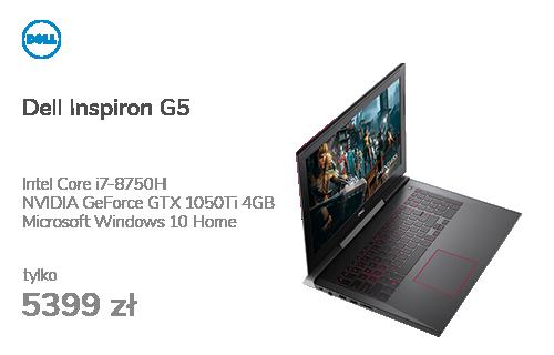 Dell Inspiron G5 i7-8750H/16G/256+1000/Win10 GTX1050Ti