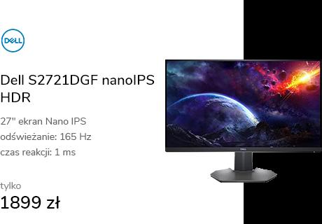 Dell S2721DGF nanoIPS HDR